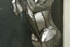 HIPPOKAMPUS TROJANUS  | 2021 | 200 x 70 x 90 cm | steel