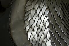 HIPPOKAMPUS TROJANUS (detail) | 2021 | 200 x 70 x 90 cm | steel